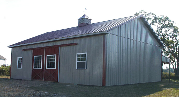 001 – Agricultural Pole Barn