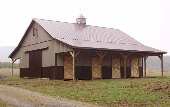 Pioneer Pole Buildings Has You Covered!